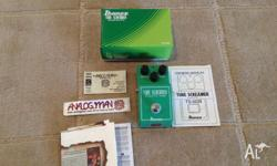 Up for sale is a new Analog Man modded Ibanez TS-808