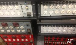 we have a collection of analogue lighting dimmers