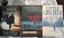 * Books For Sale * 1. Andre Dubus III ..... The Garden