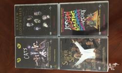 Andrew Lloyd Webber 4xDVD Broadway Collection - Cats /