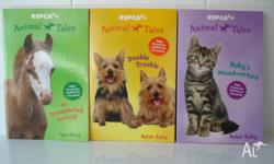 I have three RSPCA 'Animal Tales' Childrens books for