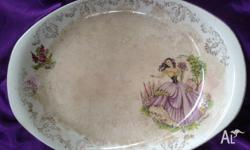 "VERY COLLECTIBLE ANTIQUE PLATTER , GORGEOUS. ""GIPSY"