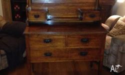Antique Bedroom dresser, beautiful patina and