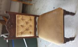 for sale is 2 antique chairs. in excellent condition.