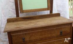 Antique dresser in original condition (although one