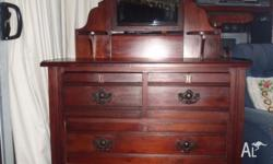 This is a very nice dressing table with plenty room