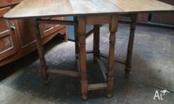 Antique gate leg table - will be available to purchase