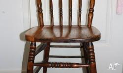 Set of 6 matching Antique Kangaroo Back chairs dated
