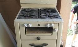Pick up only. Antique Oven.