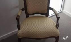 excellent condition, used as a display chair in