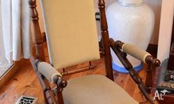 Antique Rocking Chair, one of a kind . 400 or nearest