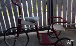 Restored tricycle, restored approximately 6 years age;