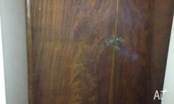 Tudor style in excellent condition wardrobe with key...