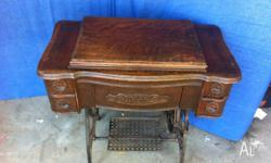 Needs minor restoration although is a great furniture