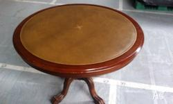 One Wooden Antique Table, Approximately 100cm in