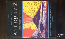 Antiquity 2: Interpreting the Past, third edition. Good