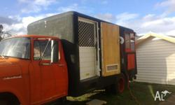 FOR SWAP IS 1968 INTERNATIONAL CAMPER, HAS REGO TILL