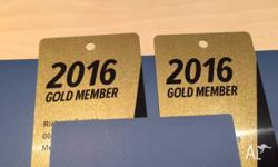THERE ARE 2 ANZ GOLD MEMBERSHIP BADGES AVAILABLE FOR