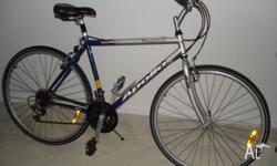 Excellent condition. 27 inch frame size, 21 speed