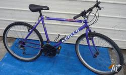 18 Speed Repco Men�s Bike with front suspension. Both