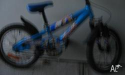 Apollo 16 in Small Bicycle Good cond. Colour Blue