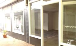 $280.00 + GST - GENEROUS 51 SQM SHOP IN BUSY PART OF