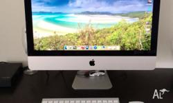 For Sale iMac i5 Apple Mac Computer 21.5 Inch Screen (