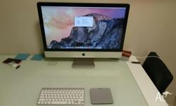 "Apple iMac 27"" (mid 2011) - 2.7 GHz Intel i5 CPU - 4 GB"