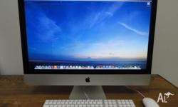 "Apple Imac 27"" Mid 2011 In Ultra Mint Condition Like A"