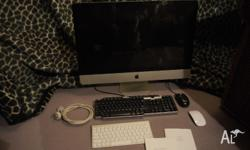 "Up for sale I have my iMac 27"" 3.1GHz i bought new late"