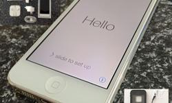 *** LIKE NEW *** Apple iPhone 5 - 64GB White�silver