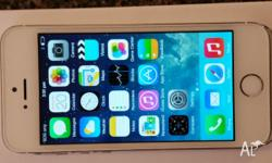 Apple Iphone 5S 16Gb White/Silver. Unlocked as new in