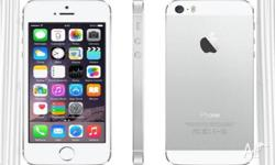 LOOT AT THIS. NOW , SELLING IPHONE 5S USED ( ( SILVER ,