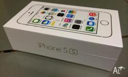 Brand new Apple iPhones 5S Silver / White - 32GB for