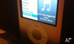 Up for sale is a used Silver Apple Ipod nano 4gb 3rd