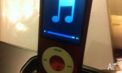Up for sale is a used Apple ipod Nano 8gb 5th gen. Pink