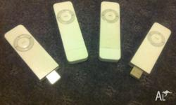 Up for sale are used Apple Ipod Shuffle 512mb 1st