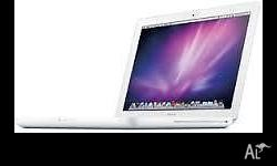 "Apple Mac book C2 Duo 13"", 2.4 GHz ,160GB HDD,4GB RAM"