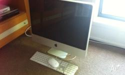 Good condition Apple Mac desktop. 24 inch screen. 2007
