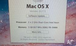 Mac Pro 2006 firmware upgraded to 2007 OS X 10.7 Lion