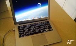 Brand new Apple MacBook Air 13inch, 4gb memory , 1 week