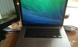 Selling my MacBook Pro Retina, The details are listed