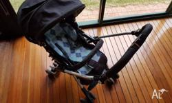 Aprica pram (Model Laura). Light weight 4.6 kg � Good