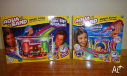 I have for sale 2 x Aqua Sand packs. Light-Up Kingdom
