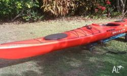 Aquanaut LV RM Sea kayak, good condition, normal wear &