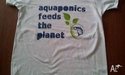 Aquaponics Tee Shirt � Aquaponics feeds the planet.
