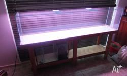 Aquarium in good condition no scratches on glass Heto