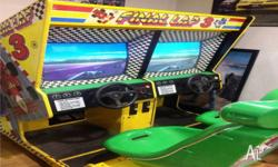 Final Lap 3 Arcade Game in perfect working order. Coin