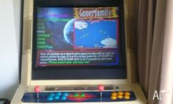 As new full-size Arcade Game. 1066 games including