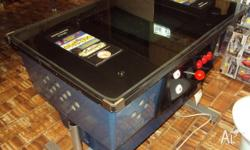 Taito cabinet, Cocktail 60 game table Top, Has new